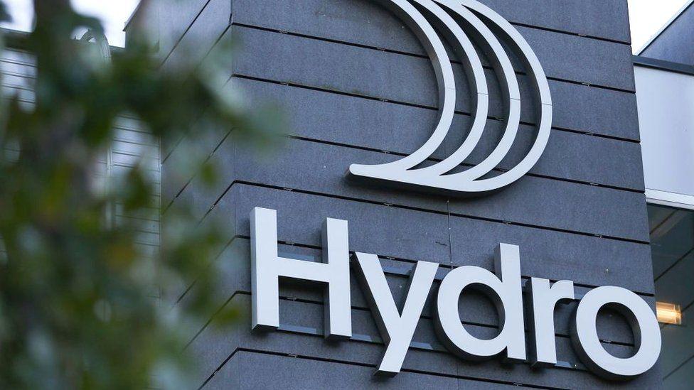 Hydro company logo