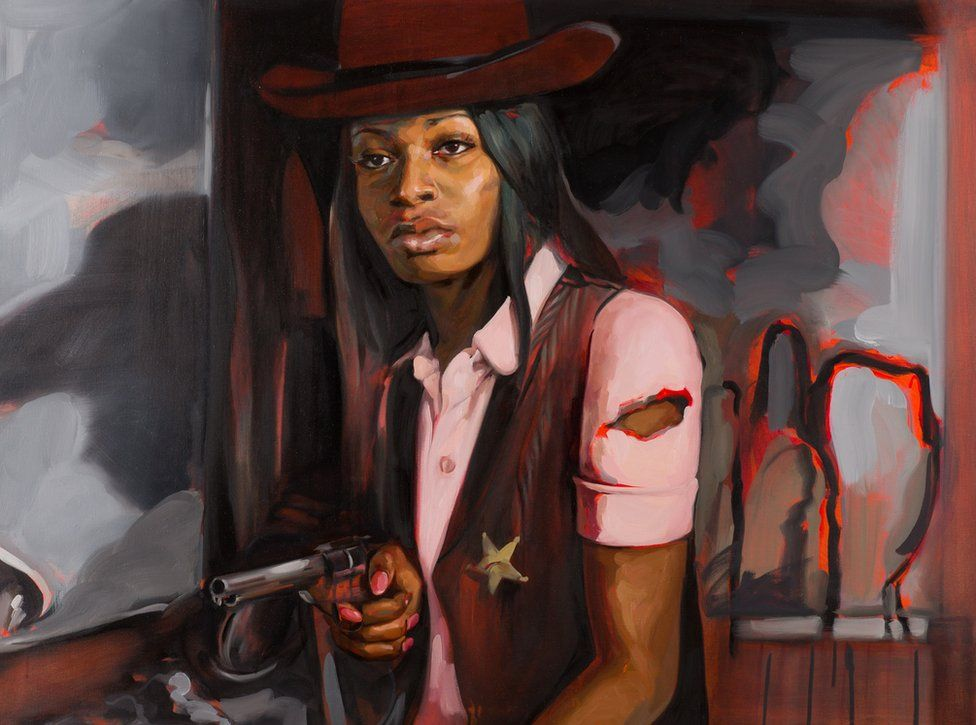 Liakesha Cooper in High Noon, by Felice House