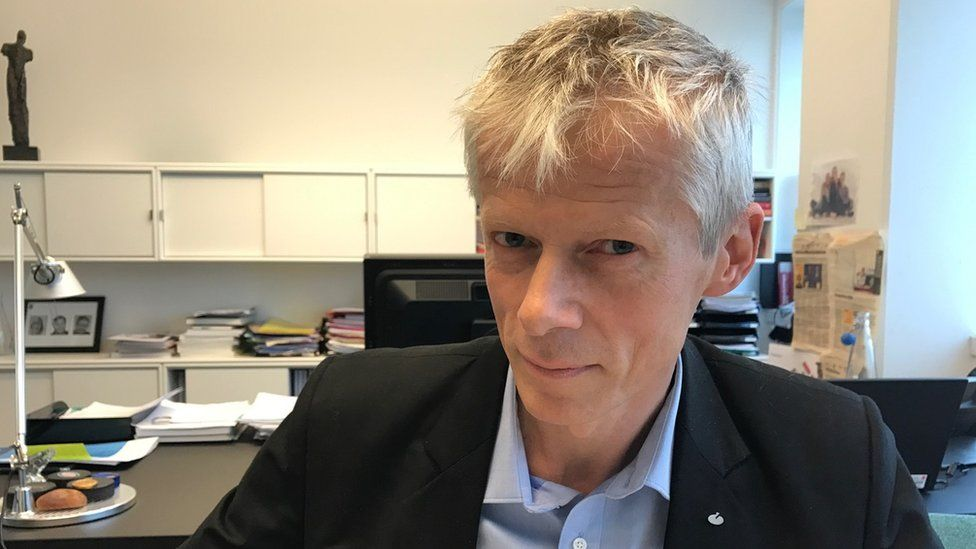 Hans Christian Holte, the head of Norway's tax authority