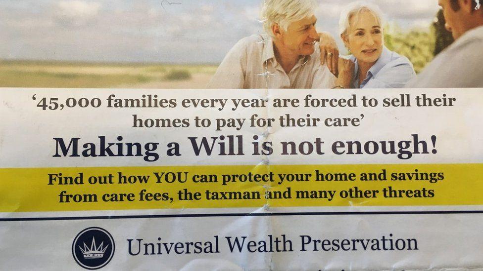 Universal Wealth Management leaflet
