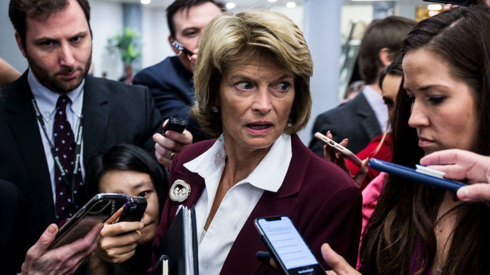 Alaska senator Lisa Murkowski has said she will vote against calling more witnesses