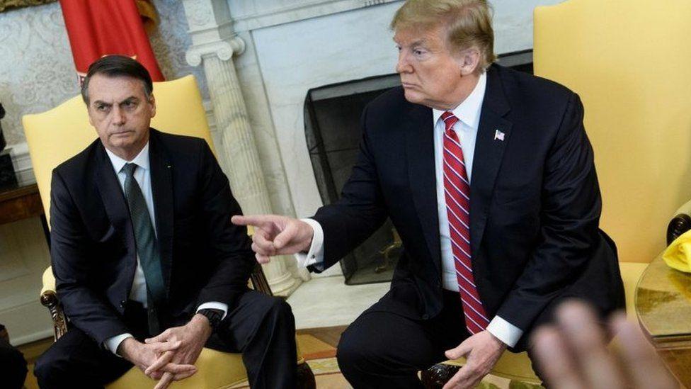 OCDE e Venezuela: o que disseram Bolsonaro e Trump durante encontro histórico na Casa Branca