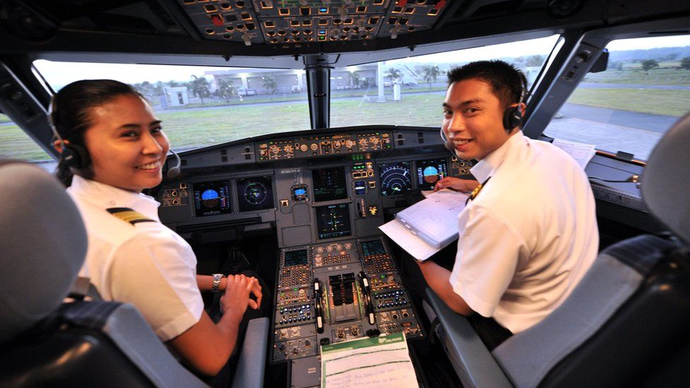 Brooke Castillo became the first female pilot at Philippines-based Cebu Pacific back in 2011