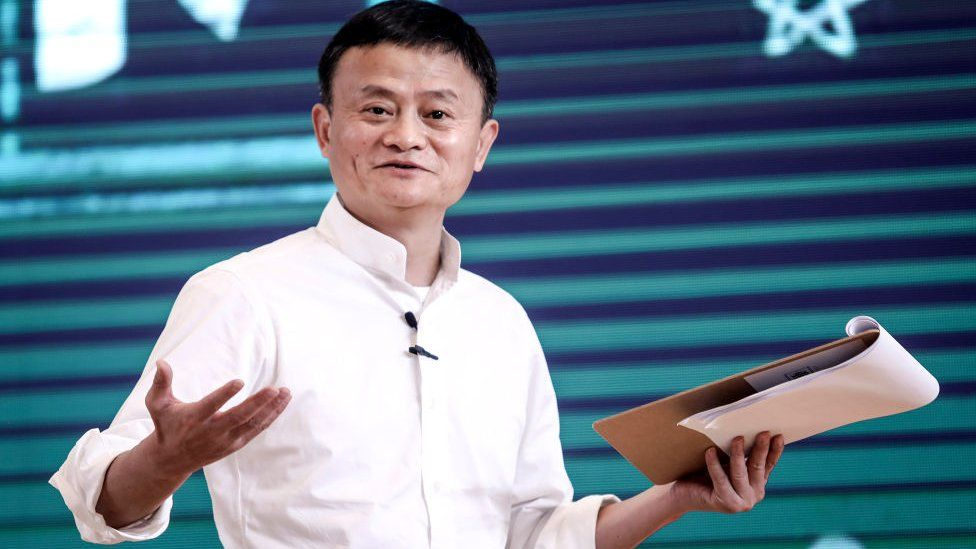 iFounder of Alibaba Group Jack Ma