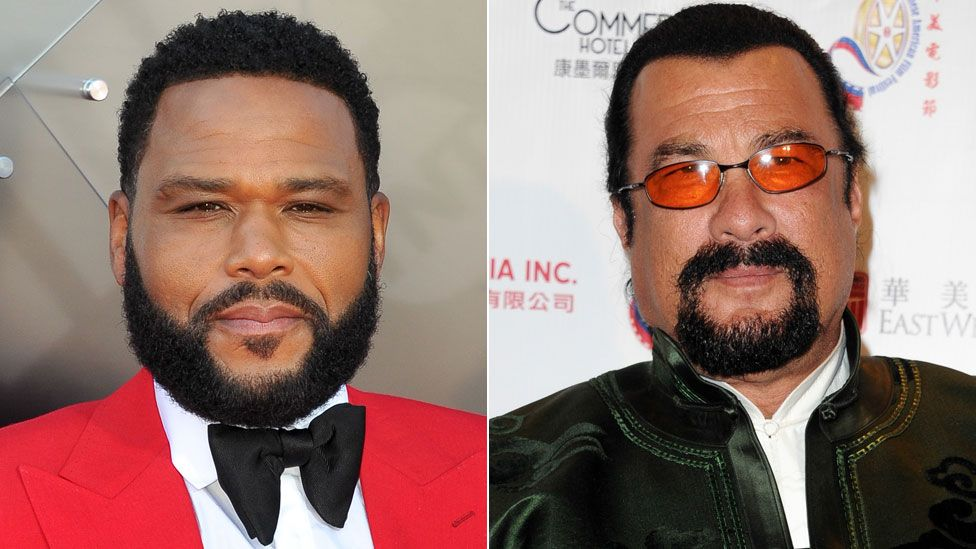 Anthony Anderson and Steven Seagal