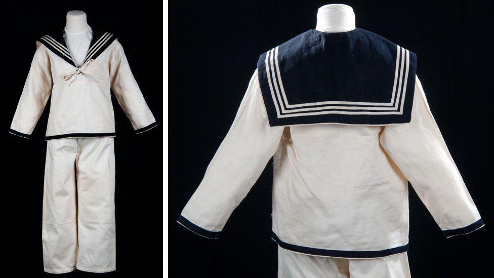 A sailor suit