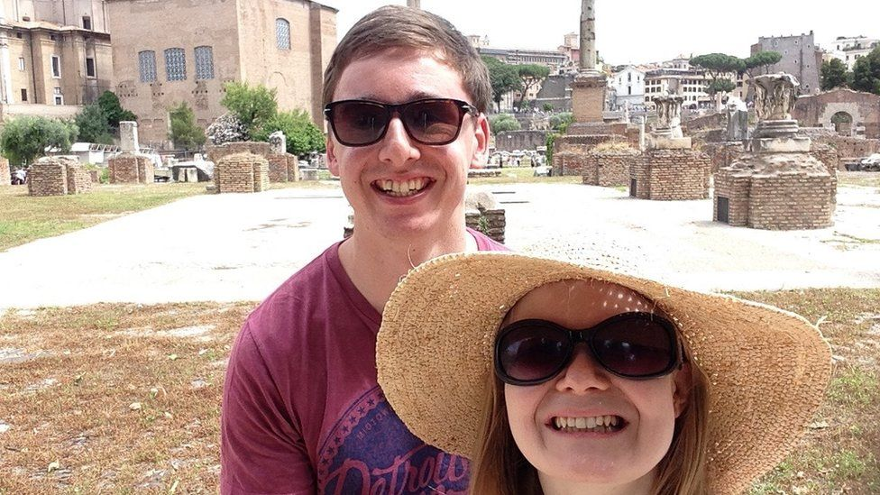 Andrew Douglas and Kirsty Lamb