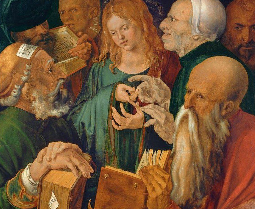 Christ among the Doctors by Albrecht Dürer
