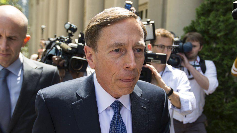 As CIA director, David Petraeus broke the law by revealing classified information