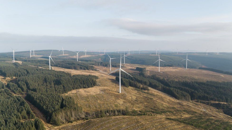 It is hoped the wind farm will be operational by 2023