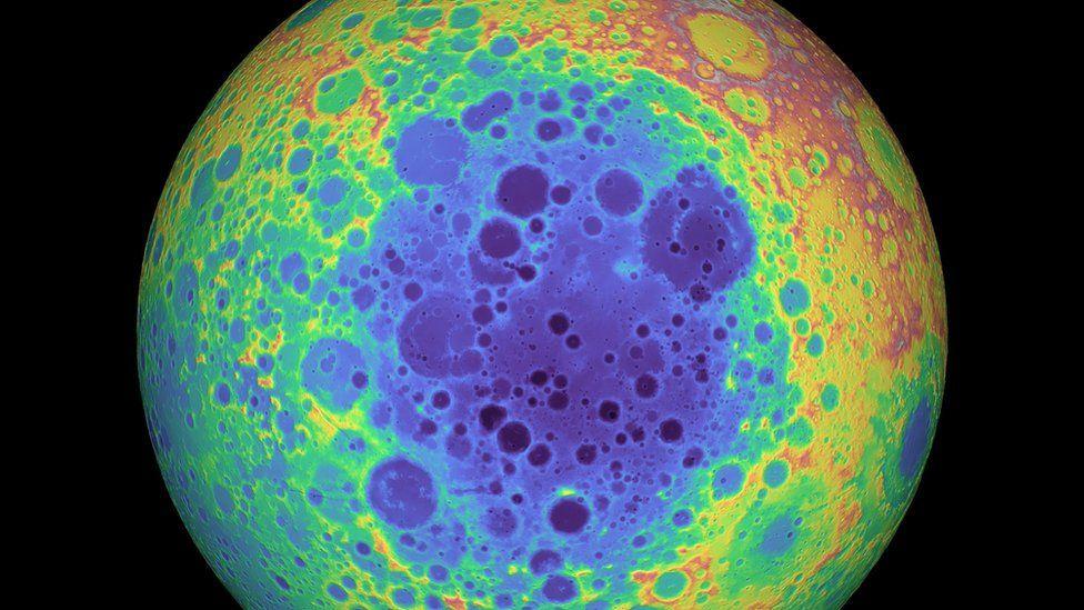 South Pole Aitken basin