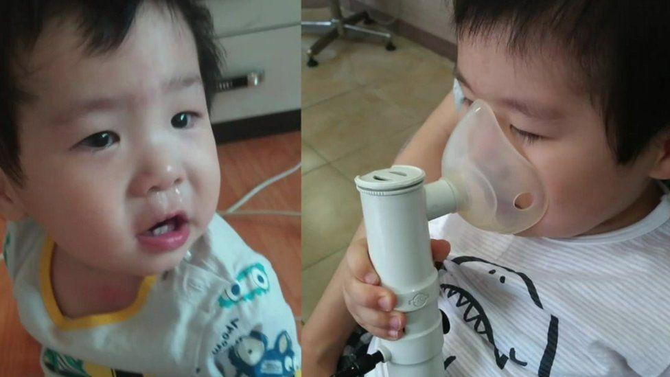 Hwang Mi-sun's son