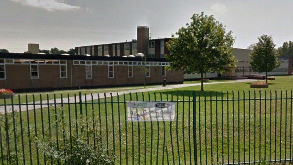 Lliswerry High School, Newport, south Wales