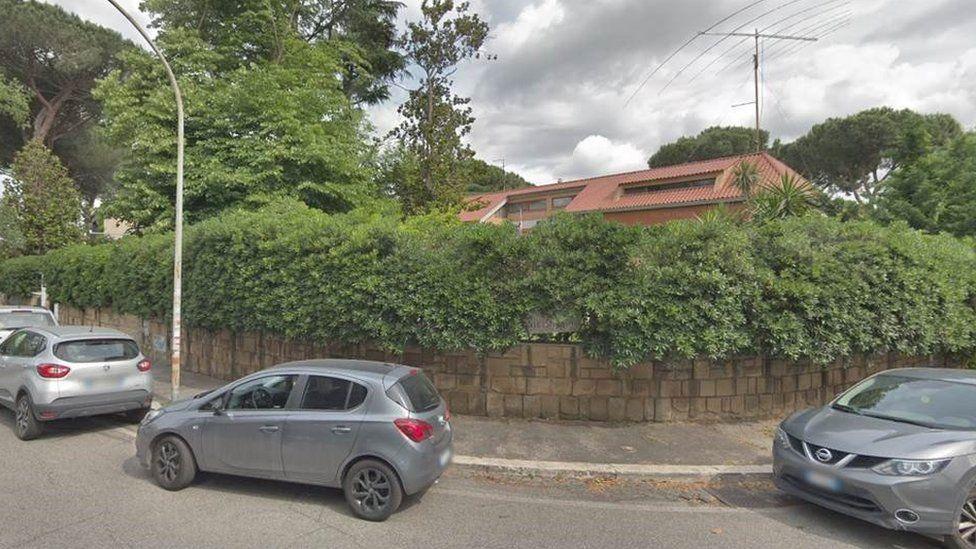North Korean embassy in Rome