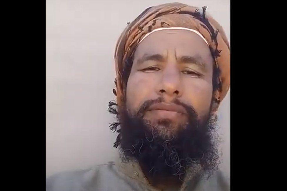 Video posted on social media by Abdul Rahim al-Huwaiti