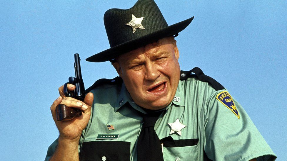 Actor Clifton James as Sheriff JW Pepper