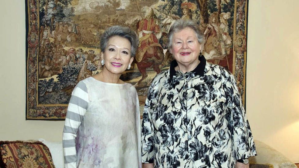 Vivienne Poy and Nancy Ruth