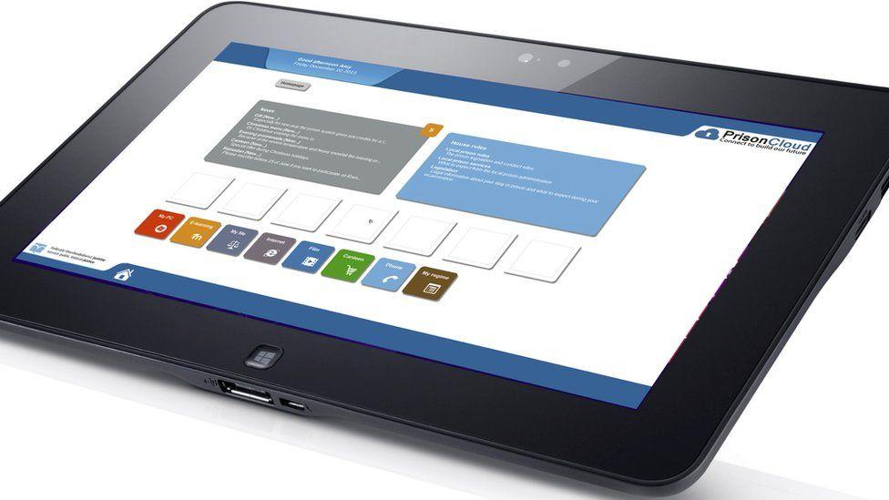 A PrisonCloud tablet