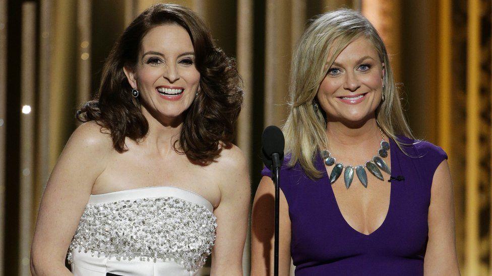 Tina Fey dan Amy Poehler menjadi pembawa acara Golden Globes pada 2015