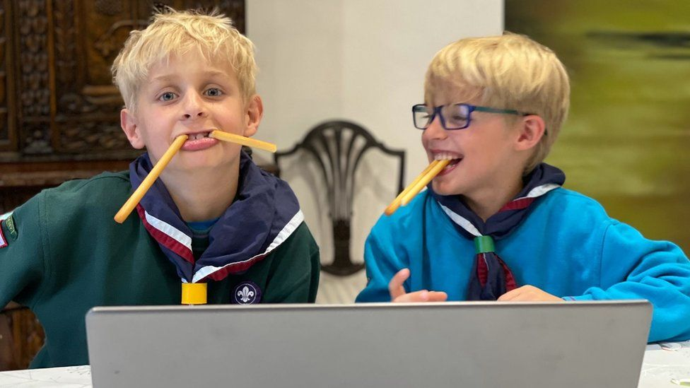 Cub scouts have been helping to test the counting portal