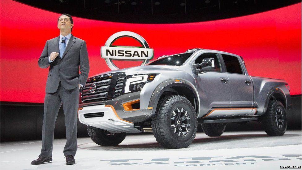 Nissan concept truck