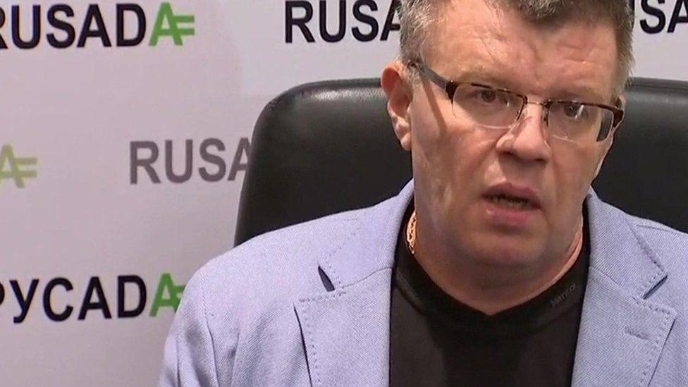 Russian anti-doping Agency Rusada's executive director Nikita Kamaev