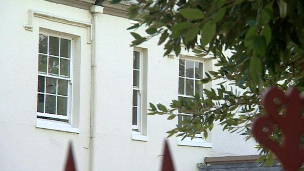 Windows at Mendip House