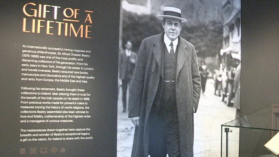 Chester Beatty exhibit