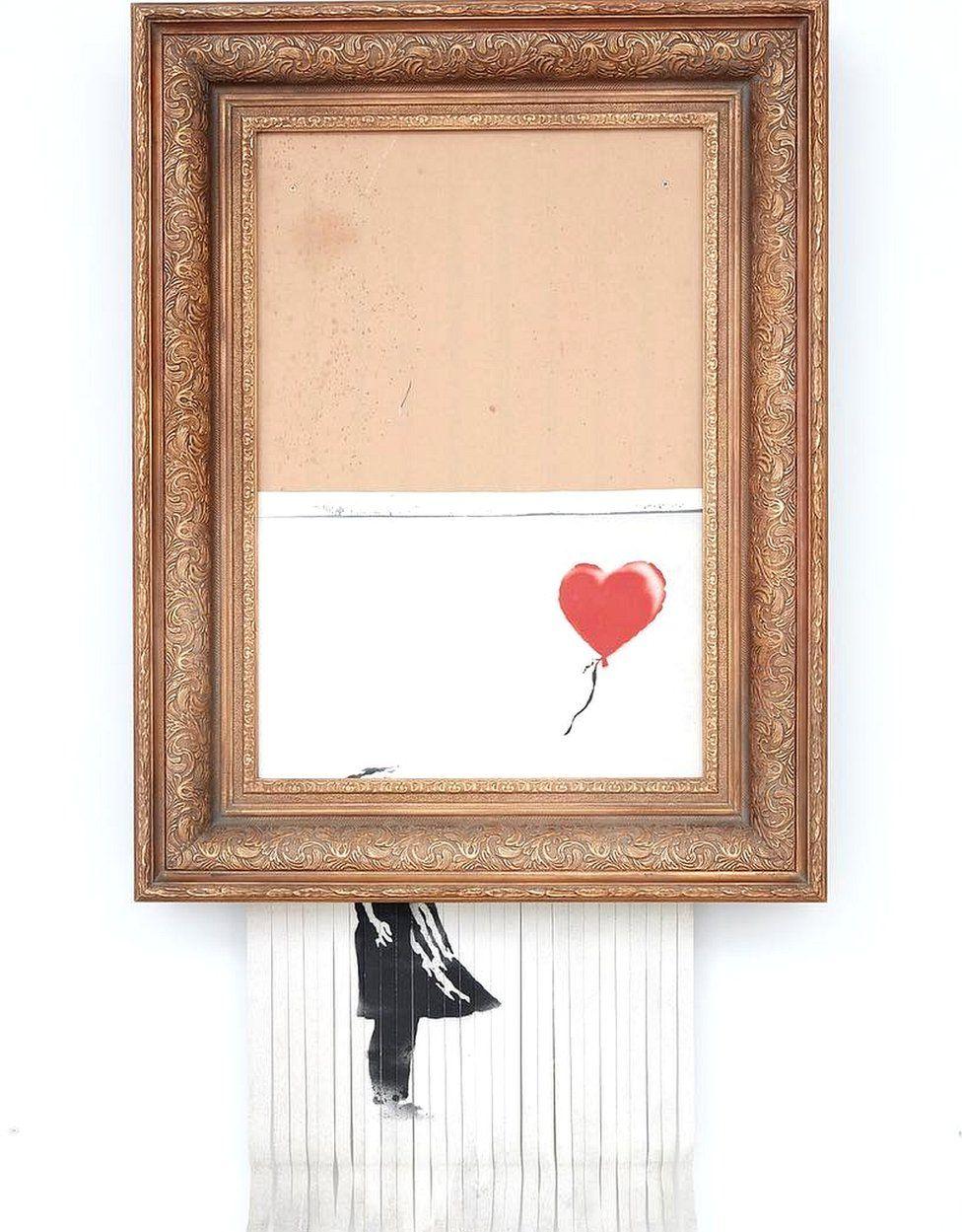 Love is in the Bin by Banksy
