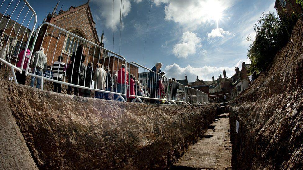 Richard III excavation