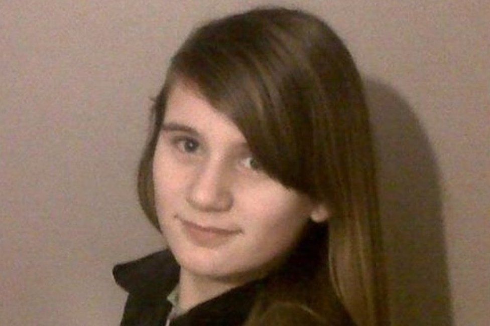 Photo of Shannon Clifton when she went missing from her home