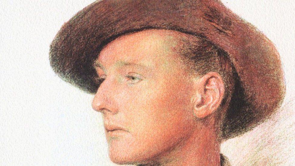 Australian soldier, Robert Hamilton