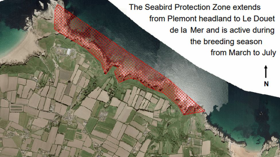 Map of Seabird Protection Zone