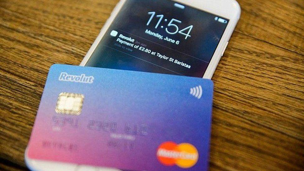 Revolut card and phone