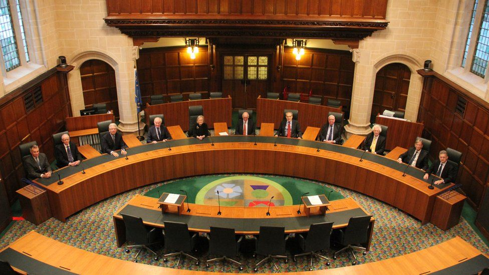 The 11 justices of the UK Supreme Court