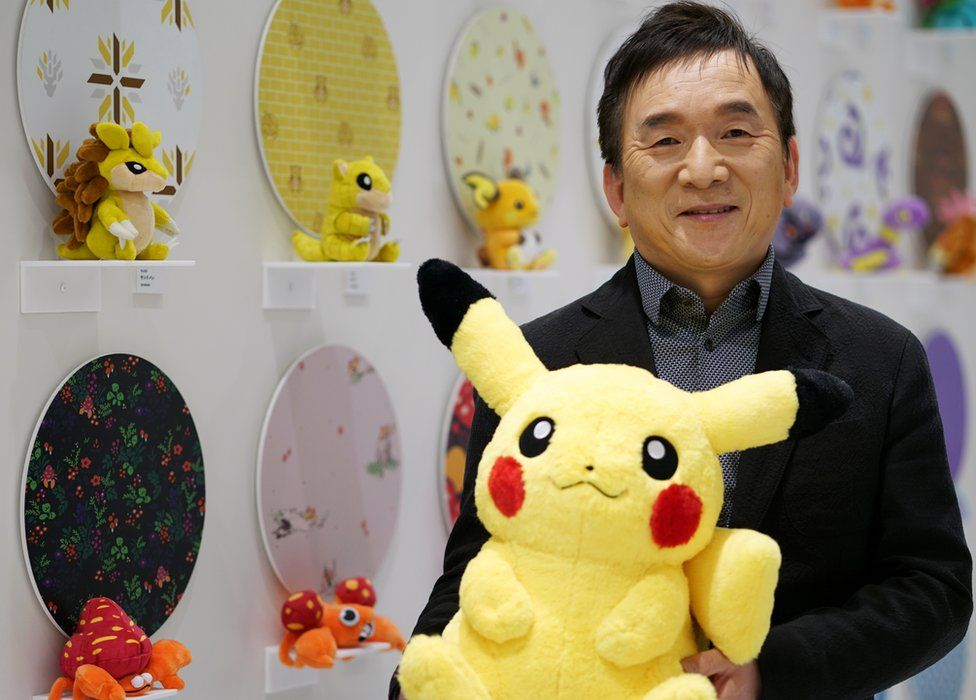 Tsunekazu Ishihara, president of the Pokemon Company