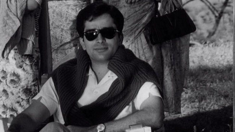 Shashi Kapoor in his younger days