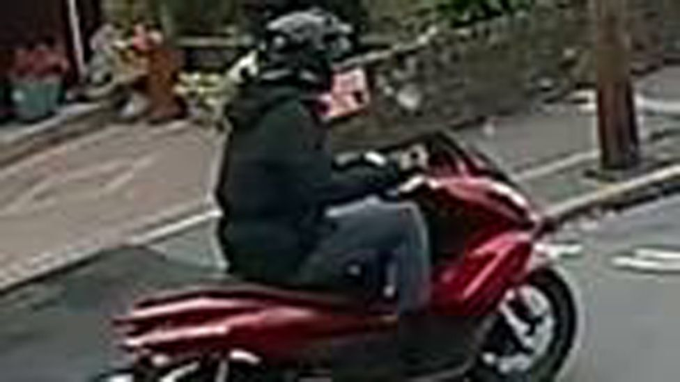 CCTV still released by police
