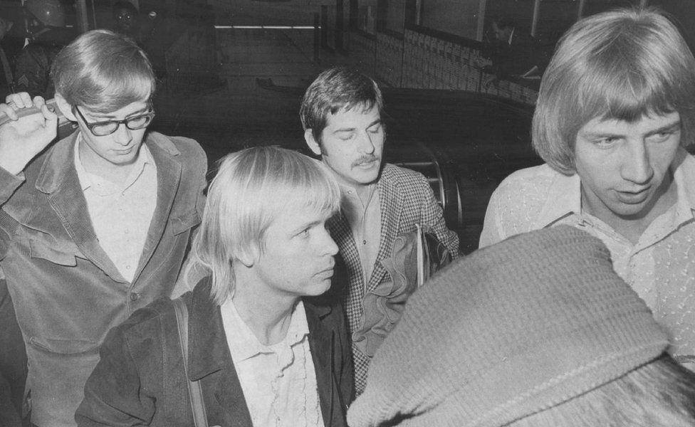 Members of the rock group Harper's Bizarre