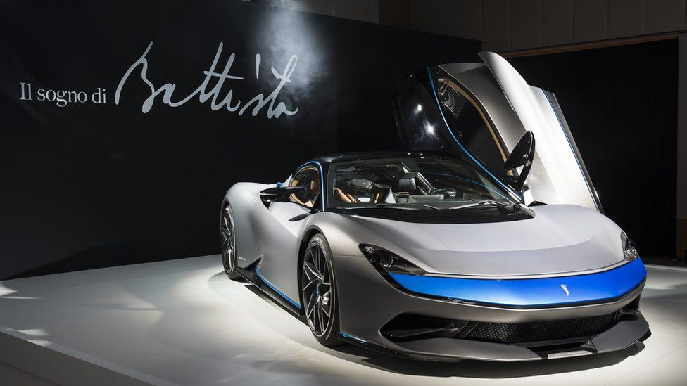 The fastest road car in the world revealed - and it's electric - BBC
