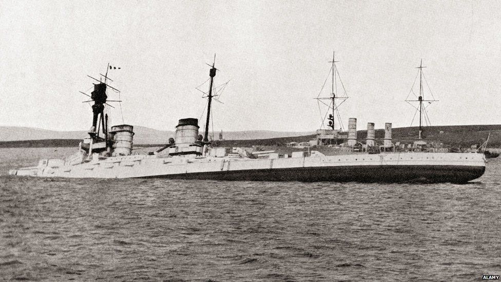 German battleship Hindenburg