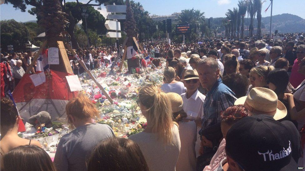 Commemorations in Nice
