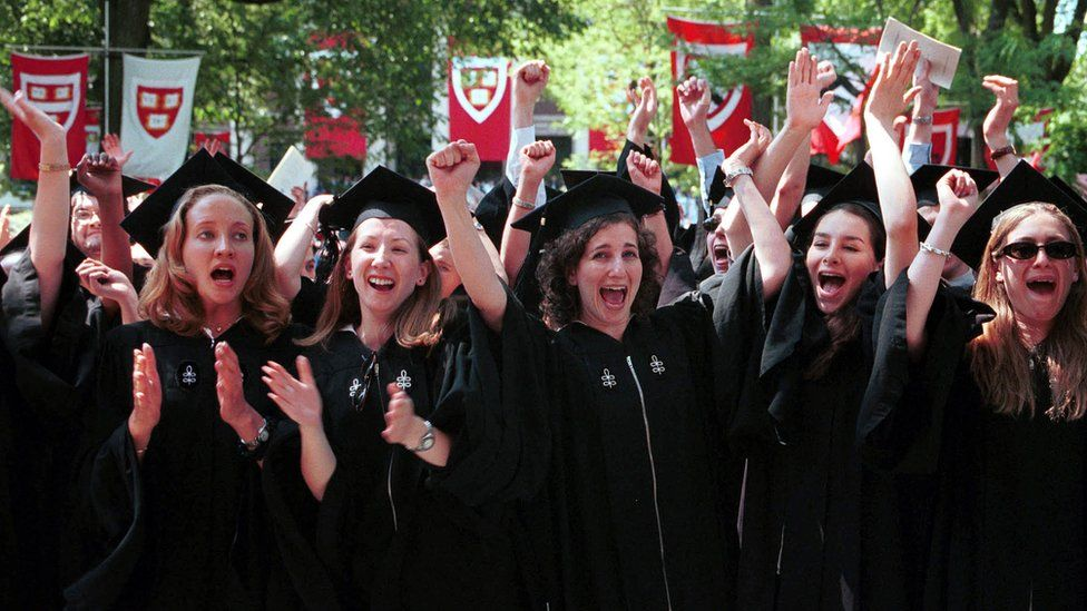 Female Harvard graduates