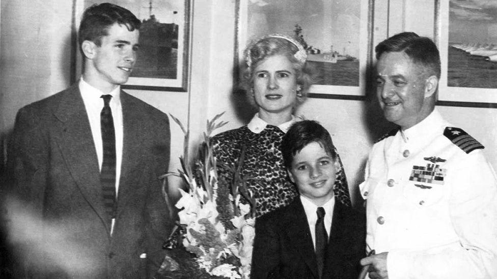 John, Roberta, Joe, John S. McCain, Jr.