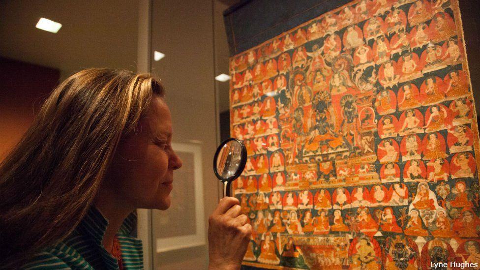 Western Tibet, 16th century, Pigments on cloth, Rubin Museum of Art