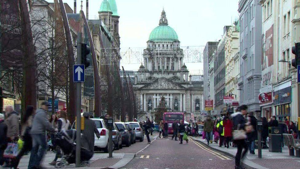 Belfast xmas shopping