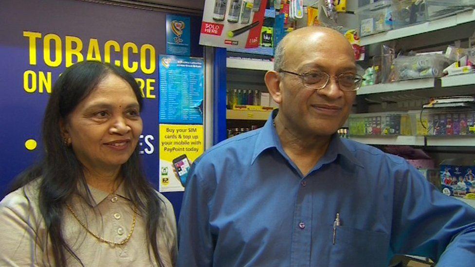Mr and Mrs Patel of Ambleside News