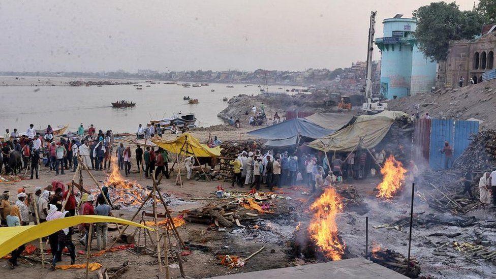 Funerals in Varanasi
