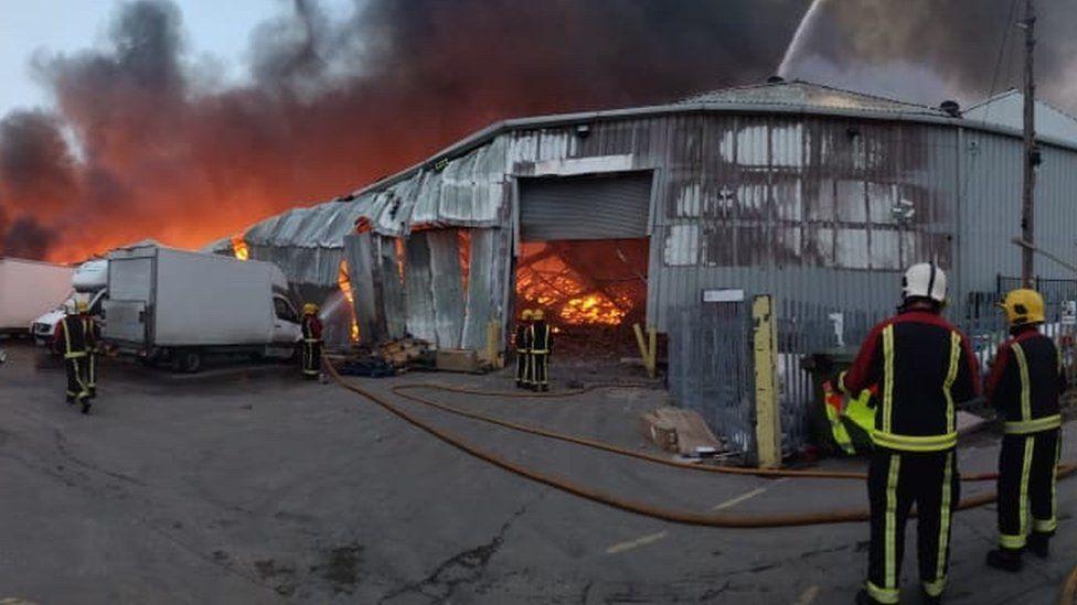 Tyseley fire