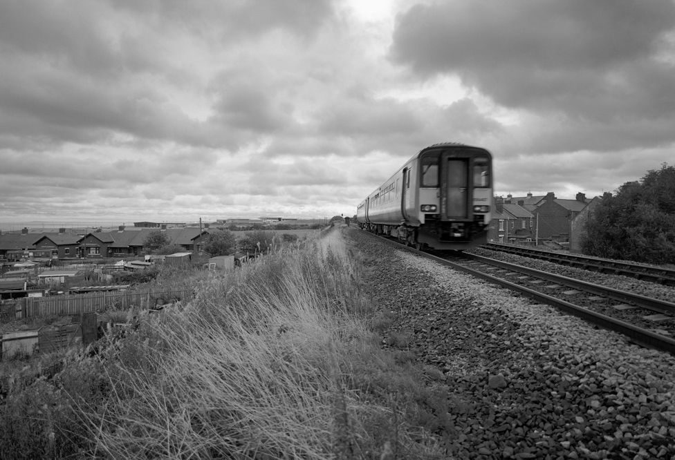 Commuter Train, Seaham, England 2004